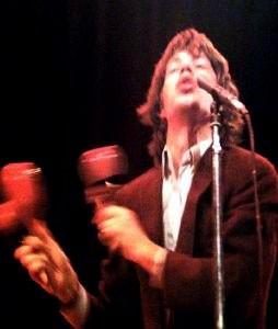 Mick Jagger > photo from album inner sleeve