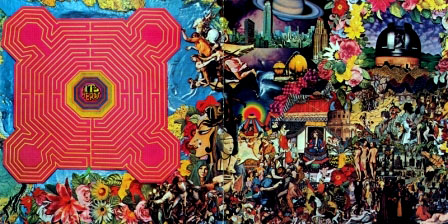 Inside album sleeve of Their Satanic Majesties Request
