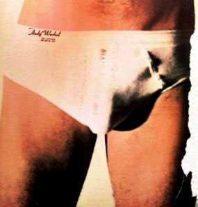 Album inner sleeve: The crotch in jocks.