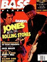 Along came Jones: Darryl Jones joined the Stones in 1993 and his background is steeped in jazz > having played with the likes of Miles Davis and Herbie Hancock. He had also toured with Madonna and Eric Clapton.