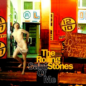The cover of the Saint Of me single