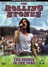 DVD cover of 1969 Stones film of London's Hyde Park concert