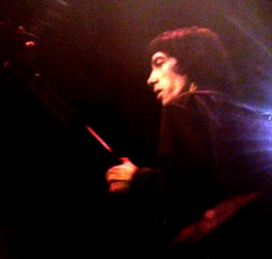 Bass player Bill Wyman, pic from album Big Hits High Tide and Green Grass