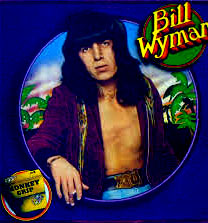 Bill Wyman on the cover of his solo album Monkey Grip, released in 1974