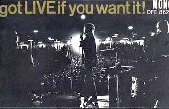 Picture from the back cover of album Got Live If You Want it